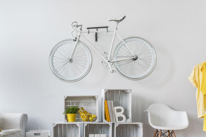 fahrrad an der wand aufbewahren tipps und anregungen. Black Bedroom Furniture Sets. Home Design Ideas