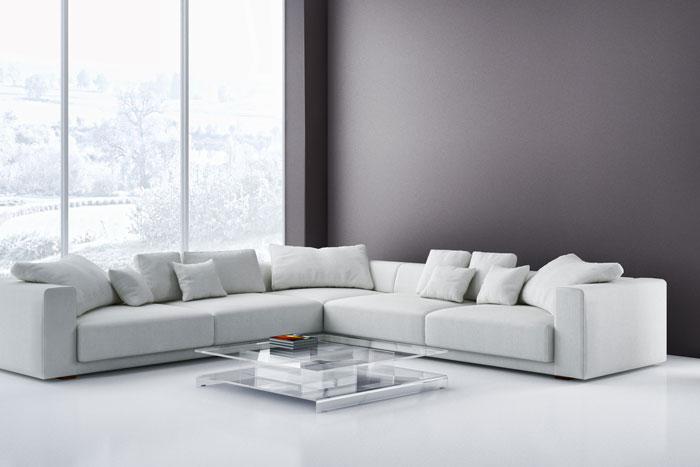 Graue Wandfarbe - Der edle Trend an der Wand - graue Wände mit Stil