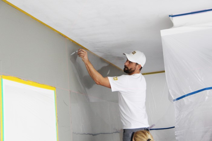 Betonlook Selber Machen wände in sichtbetonoptik wand in beton optik anleitung