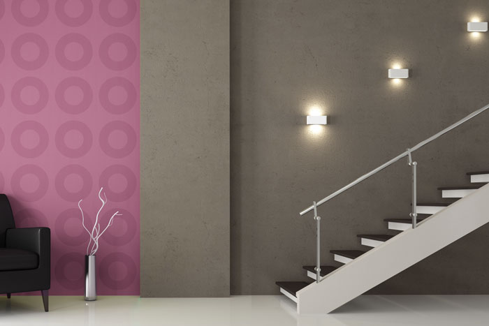 Licht Im Treppenhaus ideen zur wandbeleuchtung kreatives licht für wände