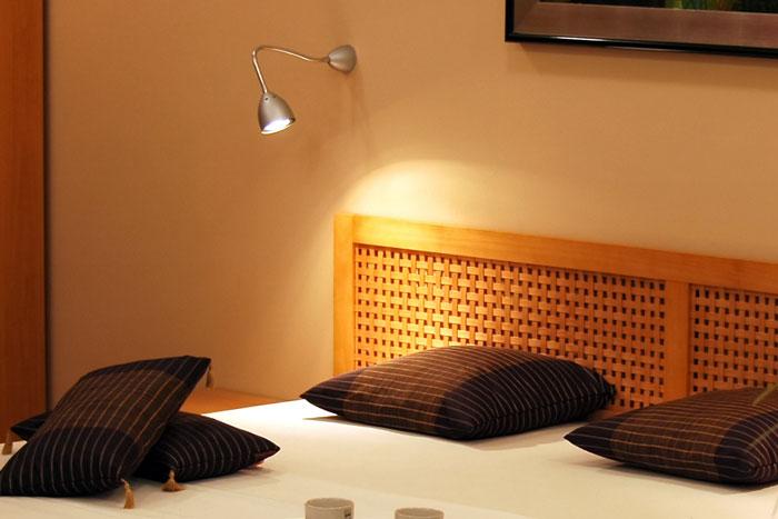 Bereichslicht Schlafzimmer