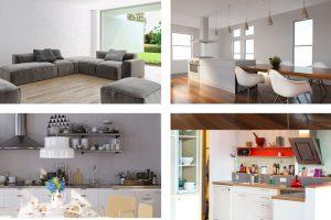 Minimalistische oder volle Wohnung