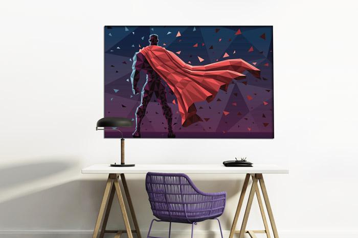 Superheld Poster