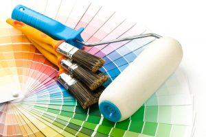 Wände zweifarbig streichen