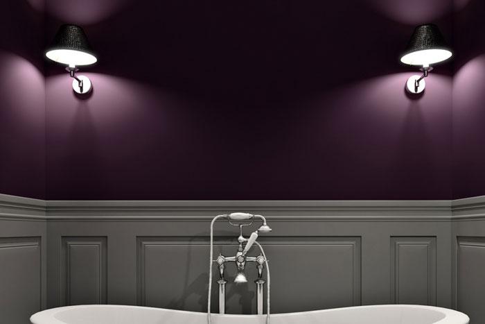 Wanddekoration im Badezimmer - Farben, Bilder & Deko für\'s Bad
