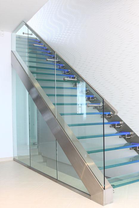glas-treppe