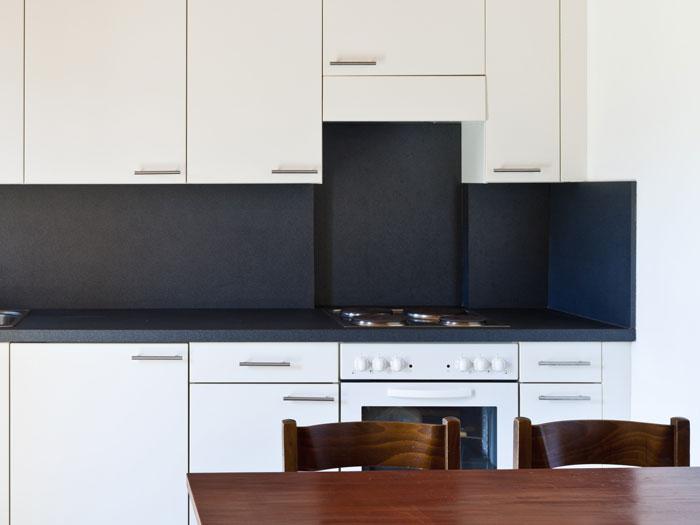 Wand In Der Küche Gestalten Farbe Material Küchentrends - Küchen wände ohne fliesen