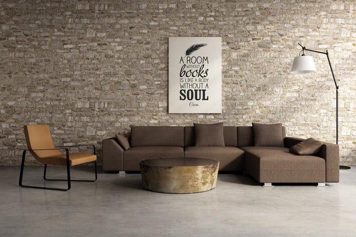 Ziegelwand In Der Wohnung Tolle Ideen Tipps