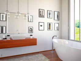 Fesselnd Wanddekoration Im Badezimmer U2013 Farben, Bilder U0026 Deko Für Das Bad · Wanddeko