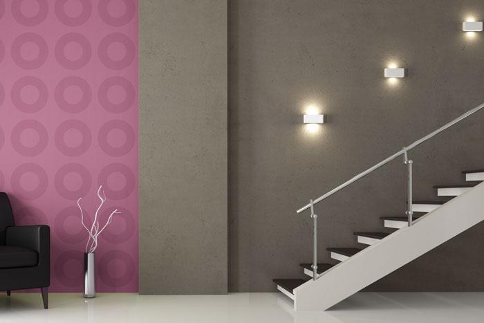 Beleuchtung im Treppenhaus