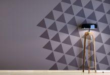 Zweifarbige Wände - Ideen zum Streichen, Tapezieren & Gestalten
