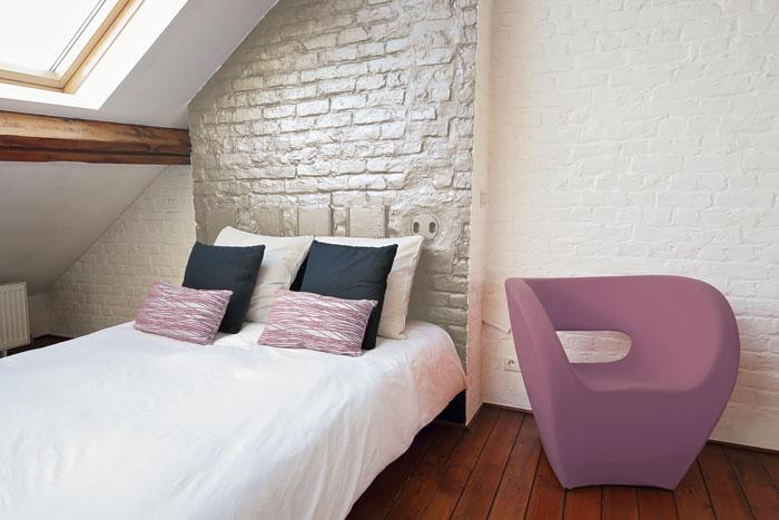 Landhausstil Ziegelsteinmauer
