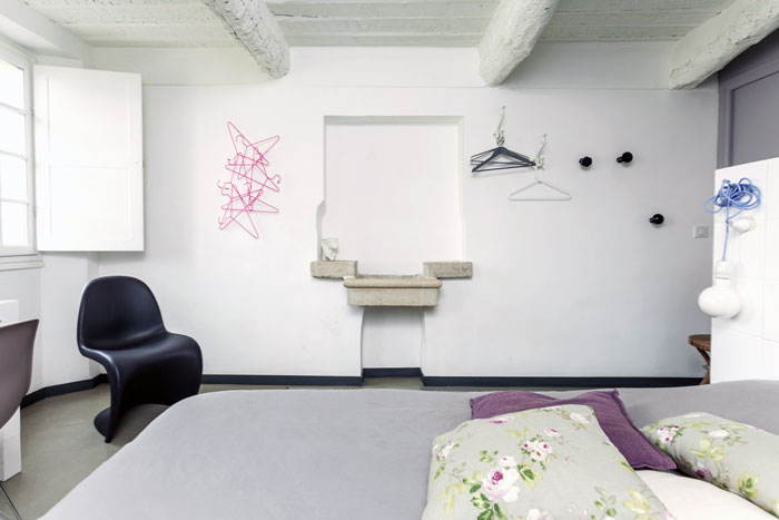 Landhaus Wandgestaltung modern