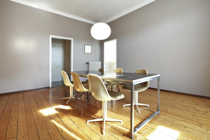 Minimalistisch Moderne Wandgestaltung Im Esszimmer