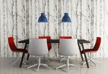 wanddekoration ideen die moderne kunst als akzent, wanddeko im esszimmer - 11 ideen & tipps für schöne wände, Design ideen