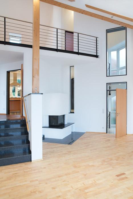 Uberlegen Offenes Wohnzimmer Mit Galerie