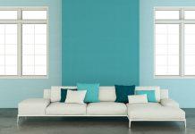zweifarbige w nde ideen zum streichen tapezieren gestalten. Black Bedroom Furniture Sets. Home Design Ideas