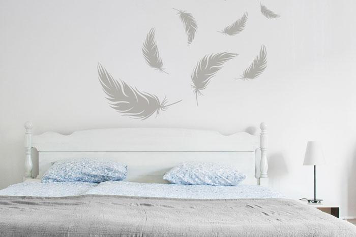 Schlafzimmer Landhaus Wandgestaltung