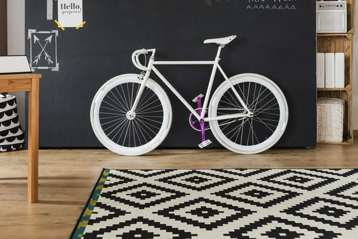 Tafelfarbe auf einer separaten Rollwand