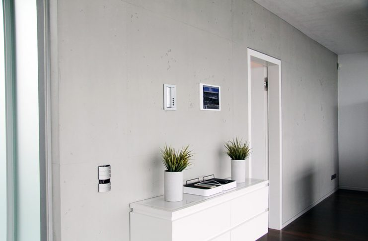 Wände In Sichtbetonoptik U2013 Anleitung Für Eine Wand In Beton Optik