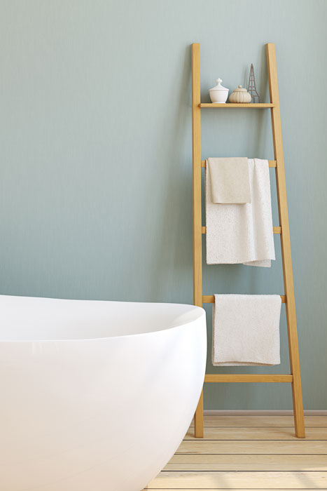 Wandregal Handtuchhalter Bad