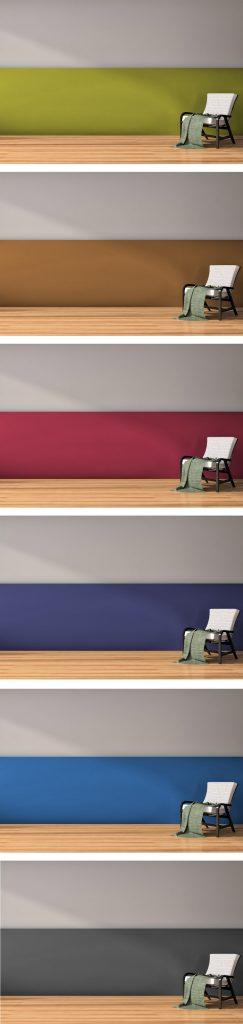 Ideen Für Zweifarbige Wände